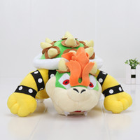 Anime Super Mario Bros Giocattoli di peluche Bowser Fiery Dragon JR Peluche Soft Doll