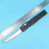 Wholesale custom hunting knives for sale - Hot sale Drop shipping Halo V AP Custom HALO V T E satin Plain knife Single Edge Tanto point blade Tactical knife knives
