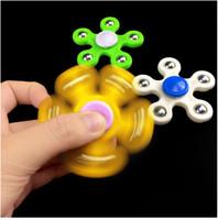 geschwindigkeit drehen großhandel-Ängstliches Spielzeug des erwachsenen dauerhaften drehenden Fingerkreisel-Dekompressionshochgeschwindigkeitspuzzlespiels des Fingerkreisels freies Verschiffen