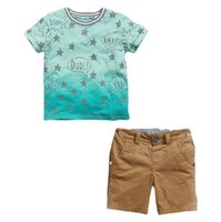Wholesale Boys Element - INS summer designs  AWESOME  boy summer t-shirt + shorts set   COOL element