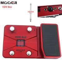 Wholesale Mooer Guitar - MOOER VEM Box Vocal Multi effect Processor Guitar Effect Pedal 8effect modules 54type guitar pedal