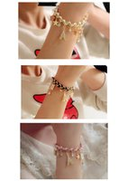 Wholesale Leather Bracelet Manufacturers - The whole network selling color fringe star poker Bracelet exquisite flower bracelet bracelet wholesale manufacturers selling five