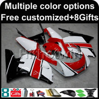 Wholesale 1996 Yamaha Fairing - 23colors+8Gifts red white motorcycle cowl for Yamaha 3XV 1991-1994 91 92 93 94 TZR250 3XV 1991 1992 1993 1994 ABS Plastic Fairing