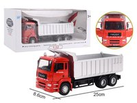 Wholesale Toy Metal For Die Casting - 2017 Zhorya 1:32 scale metal toy die cast engineering construction model auto dump truck car for children