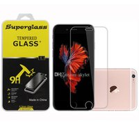 Wholesale tempered glass for coolpad - For Iphone X Tempered Glass Screen Protector Film 0.33mm 9H For Iphone8 Coolpad Catalyst with Retail Package