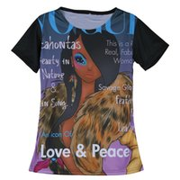 Wholesale Cheap Girls Fashion Clothing - Wholesale-Cheap Summer Women T Shirts Vogue Print Tee Retro Punk Top Tees Harajuku Woman Clothes Fashion Girls Short Sleeve Round Neck