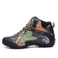Wholesale Trekking Shoes For Women - 2017 xiangguan Man Outdoor Hiking Shoes Waterproof Breathable For Women Climbing Tourism Trekking Sneakers Boots EUR SIZE 36-48