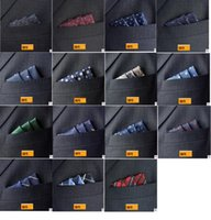 Wholesale Noble Man s Pocket Square Handkerchief Folding square Wedding Party Prom Ornaments