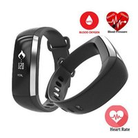 Wholesale Oximeter Ratings - M2 Smart Band Heart Rate Blood Monitor Pressure Oxygen Oximeter Sport Bracelet Clock Watch Inteligente Pulso For iOS Android Men