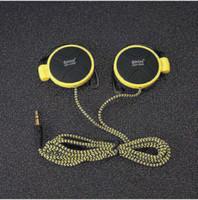 Wholesale Free Computer Telephone - Headphones 3.5mm jack Headset EarHook Earphone For iphone 6 6s 7 plus Mp3 Mp4 Player Computer Mobile Telephone Earphone Q940 Free Shipping