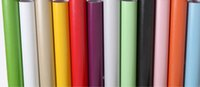 Wholesale Decorative Wallpaper Meters - LEFU wholesale width122cm self-adhesive PVC pearl paper Decorative Waterproof Film PVC Wall paper stickers for Kitchen Cabinet per meter
