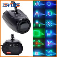 AC 90V-240V Sound-Activated 64 Led RGBW Disco Stage Light Modifica Magic Pattern Effetto DJ Lighting per Party Show