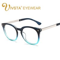 Wholesale China Eyeglasses Frames - Wholesale- IVSTA Oversized Large Glasses can be Without Lenses Women's Spectacle Frame China Eyeglasses Prescription Diopter Gafas 8115