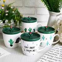 Wholesale Kitchen Utensils China - Coffee Cup Cacti Men And Women Ceramics Mug Non Slip Household Kitchen Utensil Creative Gift Articles 11 9yw C R