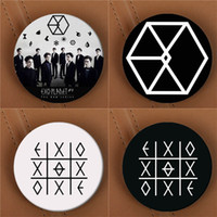 All'ingrosso YouPop KPOP EXO EXO-K EXO-M EXODUS PLANET # 2 Album Spilla K-POP Pin Badge Accessori per l'abbigliamento Cappello zaino decorazioni HZ1576