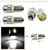 Wholesale Led Ba9s - T4W 5730 6SMD 10SMD BA9S Side Tail Light Projector LED Car Bulb Lamp Interior Led reading light t4W automotive Interior Lamp