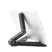 suporte de suporte preguiçoso ipad venda por atacado-Universal Tablet PC Suportes Dobrável Ajustável Girando Stand Suporte Preguiçoso para 5.0 -10 polegada Telefone e iPad 2 3 4