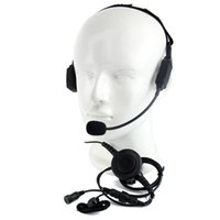 ingrosso cuffie ptt walkie talkie-Finger PTT MIC Headphone Headset per Walkie Talkie per Motorola MTP850 MTH850 Radio C2215