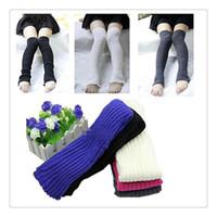 heiße strumpfbeine großhandel-Heiße Verkäufe der Großhandelsdamen-Frauen strickten Bein-Wärmer-warme Socken-Strumpf-Strumpfwaren-Legging-Stiefel-Abdeckungen Bein-Wärmer-Legging-Abdeckung