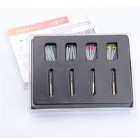 Wholesale Shipping Box Post - 1 Box Dental Fiber Set 20 pcs Fiber Post & 4 Drills Dentist Product New Arrival 100% Brand New Free Shipping