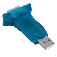 Wholesale usb db9 - 100Pcs New USB 2.0 To RS232 Serial Converter 9 Pin Adapter USB To Rs232 DB9 Male For Computer Wholesale