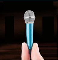Wholesale Desktop Conference Microphone - mobilephone Microphone Portable Mini 3.5mm Stereo Studio Speech Mic Audio Microphone For Phone Smart Phone Desktop Accessories by DHL
