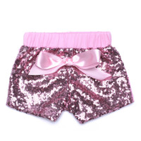 Wholesale Colorful High Waist Pants - High quality baby bloomers wholesale sequin dance shorts,Sequin shorts colorful baby girl shorts boutique toddler girls shorts