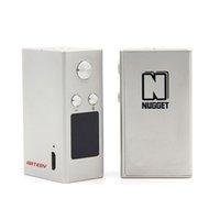 Wholesale E Cigarette World - Wholesale- Original Artery Nugget Box Mod 50w Worlds Smallest TC Mod 1000mah mini temperature control e cigarettes Vape Mods Elektronik