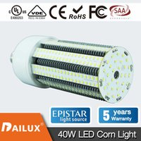 Wholesale Led Bulbs For Street Lights - 40W Led Corn Bulb Light 5000K 5200 Lumen, Replacement for Metal Halide Bulb, HID, CFL, HPS, 360 Degree Street Area Light YH