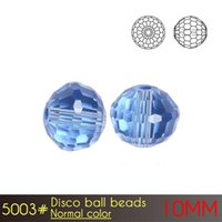 Wholesale Kids Glasses Sale - Chinese Factory Sale Kids DIY Present Making Disco Ball Beads 10mm Normal Colors A5003 72pcs set