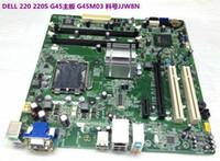 Wholesale Lga775 Motherboards Ddr3 - PN JJW8N P301D G45M03 Motherboard 775 LGA775 For DELL Vostro 220 220S v220 Series Desktop G45 DDR2