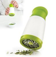 Wholesale Parsley Herbs - herb grinder Spice Mill Parsley Shredder Chopper Fruit Vegetable Cutter cooking Kitchen accessories tools quality guarantee LLFA