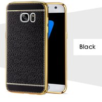 Wholesale Galaxy S4 Vintage - New for Galaxy S8 Plus Case Cover for Samsung S7 S6 Edge Plus Grand Prime S4 S5 TPU PU Leather Retro Vintage Cases