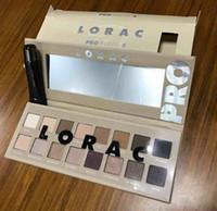 augen schatten grundierung großhandel-LORAC PRO 3 PALETTE 16 Color Lidschatten mit Eye Primer Powder Blush ROMANCE Make-up Kosmetik-Palette Lidschatten-Palette