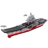 Wholesale Sluban Aircraft - Sluban 1059PCS Chinese Military Building Block Compatible with legoed Aircraft Carrier Liaoning Construction Educational Toys