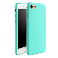 резиновый гель оптовых-Бесплатная доставка роскошный кожаный мягкий гель резиновый матовый чехол телефон чехол для iPhone XR XS Max 5 6 S 7 Plus 8 Плюс случаях