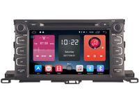 Wholesale Toyota Highlander Gps Dvd Player - Navirider 4G lite 2GB ram Android 6.0 car dvd player autoradio stereo gps tape recorder for TOYOTA highlander 2015 2016 dvr head units