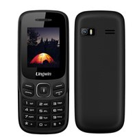 Wholesale Dual Gsm Cards Bluetooth - Lingwin N1 Feature Phone 1.77 Inch 32MB+32MB GSM Quad Band Dual SIM+TF Slot CellPhone Senior Elderly MP4 Flashlight Mobile Phone