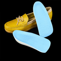 Wholesale Men Height Elevator Shoes - 2 pairs Height Increased Insoles 2.5 cm Lift Taller In Sock Arch Support PU Pads Elevator for Women Men Shoes Foot Care