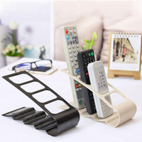 Wholesale Tv Remote Caddies - Wholesale-Hot Free shipping TV DVD VCR Step Remote Control Mobile Phone Holder Stand Storage Caddy Organiser