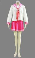 Wholesale Lucky Star Uniform - Lucky Star Konata Izumi Cosplay Costume Winter School Uniform