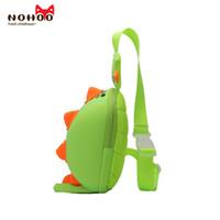 Wholesale Baby Zoo Backpack - NOHOO Kids shoulder bag 3D Cute Zoo Cartoon School dinosaur crossbody baby sling bag