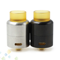 Wholesale flow electronics for sale - Azathoth RDA Atomizer mm Bottom and side air flow system Wide bore Drip Tip fit Electronic Cigarette Mods DHL Free