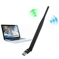 Wholesale 5ghz wifi adapter - Wholesale- Network card 2.4GHz & 5GHz USB 433Mbps Wireless Dual Band Wifi Antenna Internet Adapter Mini Network Lan Card UNT-W03 MT7610UN