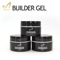 Wholesale Black Uv Builder Gel - Wholesale- Transparent Clear Builder Gel Camouflage UV Gel Acrylic For Nail Art Extension French Manicure Vernish Gel Perfect Quality