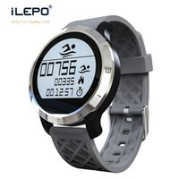 Wholesale Touch Screen Water Proof Watches - BLuetooth 4.0 LCD touch screen 1 inch display IP68 high water proof rate wrist sport bluetooth smart watch