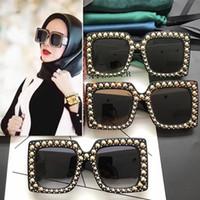Wholesale Femme Mirror - 0145 AAAAA+ New high quality luxury brand designer womens sunglasses women sun glasses occhiali lunette de soleil femme G0145 sunglass 2017