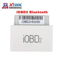 Wholesale Obd2 Diagnostic Trouble Code Reader - XTOOL iOBD2 Bluetooth OBD2 EOBD Auto Scanner Trouble Code Reader for iPhone Android Vehicle Diagnostic Tool DHL FREE