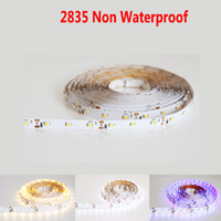 Grossiste-5M 5050 5630/5730 2835/3528 60LED / M Éclairage de bande LED Imperméable RGB Lampada ruban Diode Light Lampe DC 12V Fita Neon