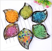 Wholesale Soilless Gardening Crystal Mud Soil Big Water Beads Bio Gel Ball for Flowers Weeding Plants Home Decoration kg kg optional color